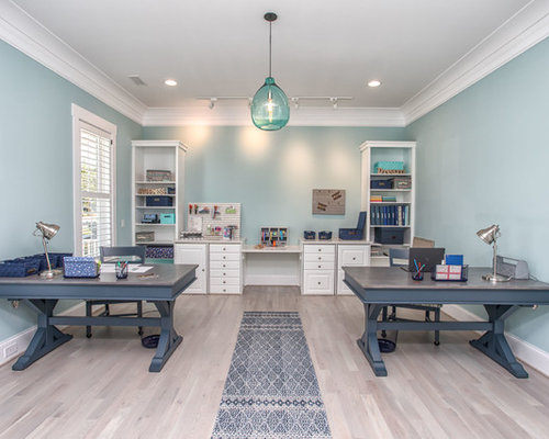 Best 30 Beach Style Home Office Ideas Remodeling Photos