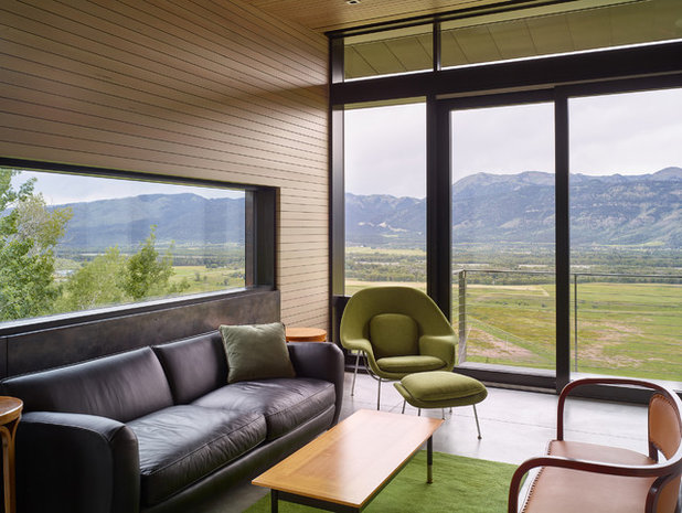 Modern Home Office by Abramson Teiger Architects
