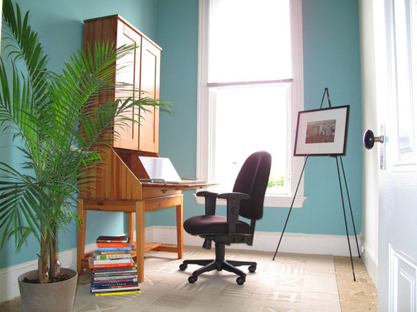 Eclectic Home Office by XOJY