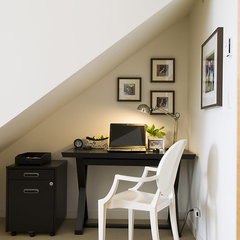 contemporary home office by Maria Killam