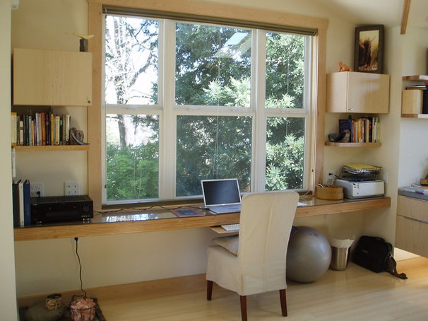 Asian Home Office by Nar Fine Carpentry, Inc./Design.Build.Cabinetry