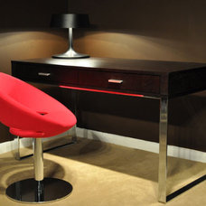 Contemporary Home Office by Cressina