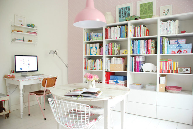 Shabby-chic Style Home Office Yvonne's Study
