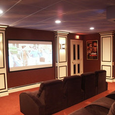Traditional Home Theater by 1 Sound Choice
