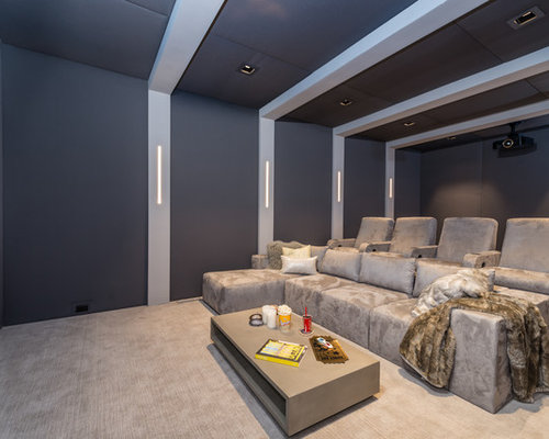 Our Best Home Theater Ideas Remodeling Photos Houzz