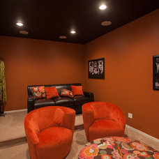 Contemporary Home Theater by Stranville Living Ltd.