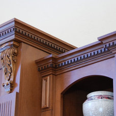 Traditional Home Theater by Carson's Cabinetry & Design