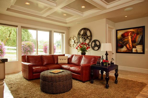 immersion dans l 39 int rieur d 39 un passionn de cin ma. Black Bedroom Furniture Sets. Home Design Ideas