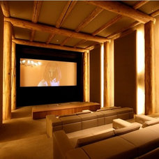 Modern Home Theater by Xssentials