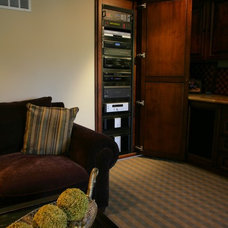 Traditional Home Theater by High Definition Home