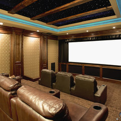 traditional media room Acoustic Evolution
