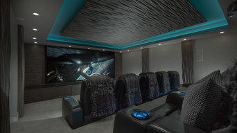Alpine, Utah Home Theater