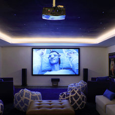 Asian Home Theater by PT Cempaka Interior
