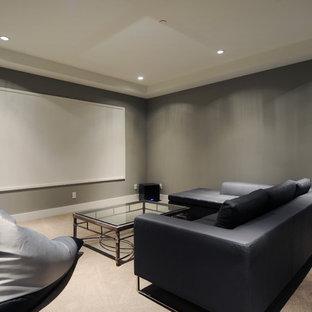 Simple Home Theater Ideas & Photos   Houzz