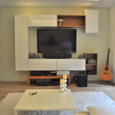 Asian Home Theater by RPA + I