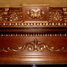 Traditional Home Theater by DISTINCTIVE APPLICATIONS Kimberly Wohlfarth,Artist