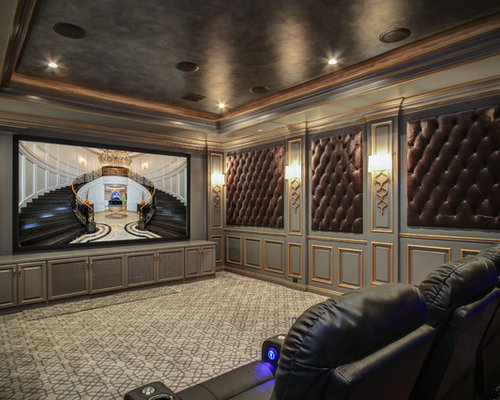 traditional los angeles home theater design ideas industrial los angeles home theater design ideas remodels