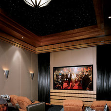 Modern Home Theater by Berni Greene, ASID, CID