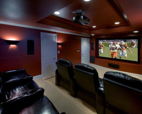 Theater Room Lighting Home Design Ideas Renovations Photos