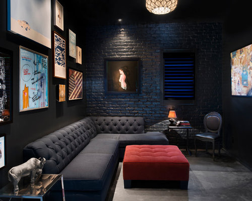 Dark Den Ideas Pictures Remodel And Decor