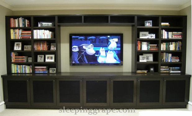 Contemporary Home Theater by User
