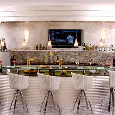 Contemporary Home Theater by Insignia Kitchen and Bath Design Studio