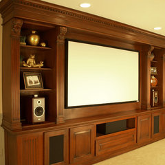media room by WL INTERIORS