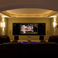 Traditional Home Theater by Fulford Home Remodeling