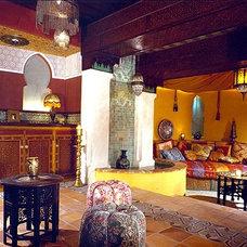 Mediterranean Home Theater by ASAP•house Inc - Studio Kiss