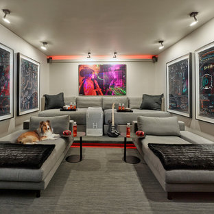 50 Home Theater Design Ideas - Stylish Home Theater Remodeling ...