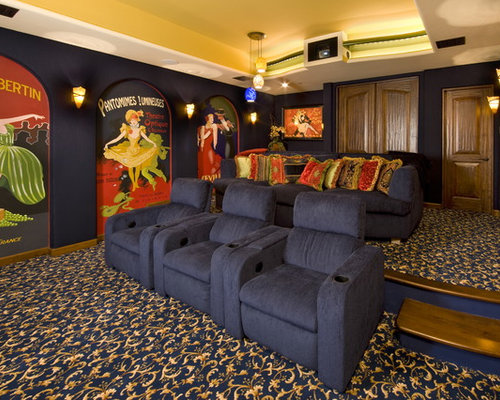 Home Theater Seating Platform Home Design Ideas Pictures