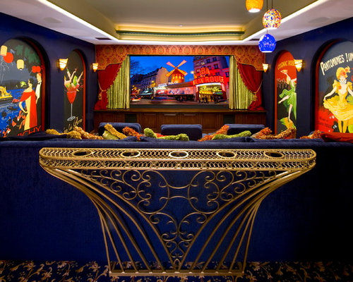 Ultimate Home Theater Rooms Houzz