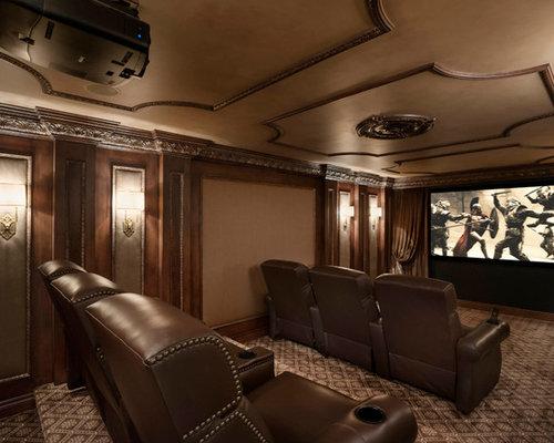 Home Theatre Design Ideas, Renovations & Photos   Houzz