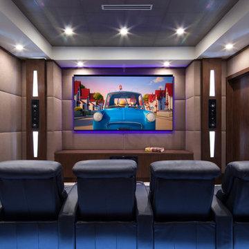 Boca Raton Theater Room