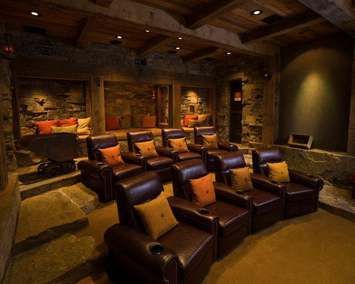 Best Best Home Theater Design Ideas & Remodel Pictures | Houzz
