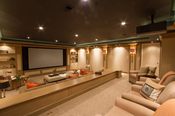 Traditional Home Theater by Bethesda Systems
