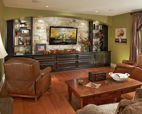 Stone Behind Tv | Houzz