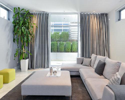 Gray Curtains   Houzz