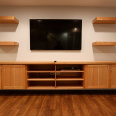 Home Theater by A-1 PAM Plastering & Remodeling, Inc.