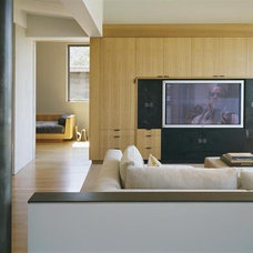 Modern Home Theater by Buttrick Wong Architects