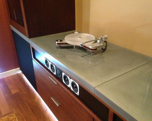 Turntable Cabinet Home Design Ideas, Pictures, Remodel and Decor