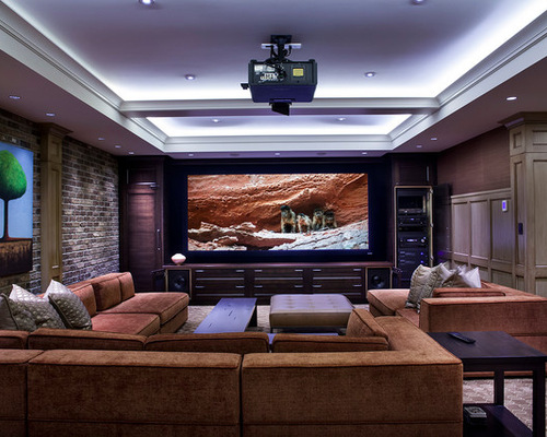 home theatre lighting - Home Theater Lighting Design