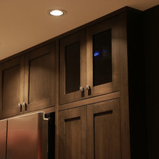 Contemporary Home Theater by Arbor Woodworking