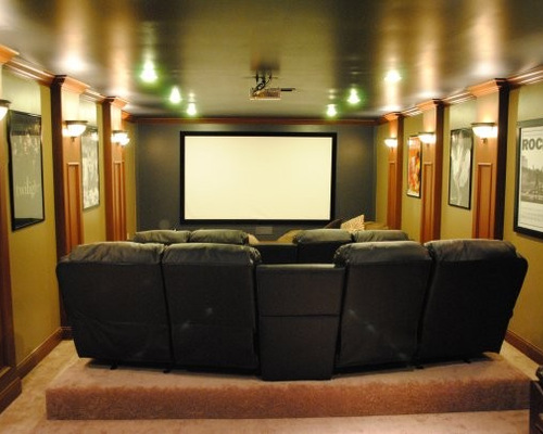 saveemail - Home Theater Rooms Design Ideas