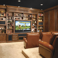 Traditional Home Theater by Stone Creek Furniture - Kitchen & Bath