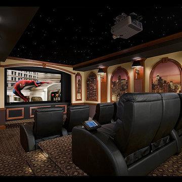 City Themed Custom Theatre