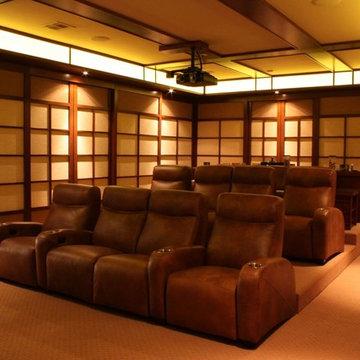Classic Custom Home Theater