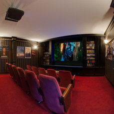 Traditional Home Theater by K&W Audio