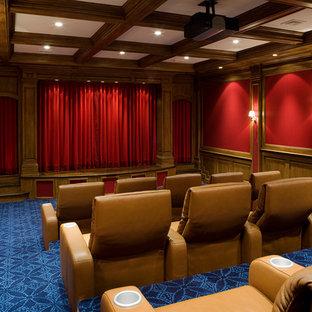 Classic Luxury Home Movie Theater