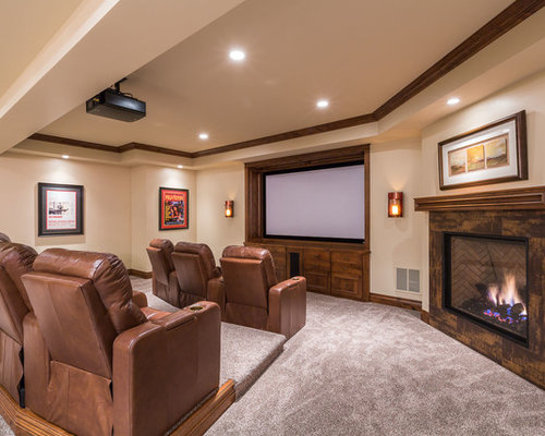 home theater room design. Save Photo Home Theatre Design Ideas  Renovations Photos Houzz